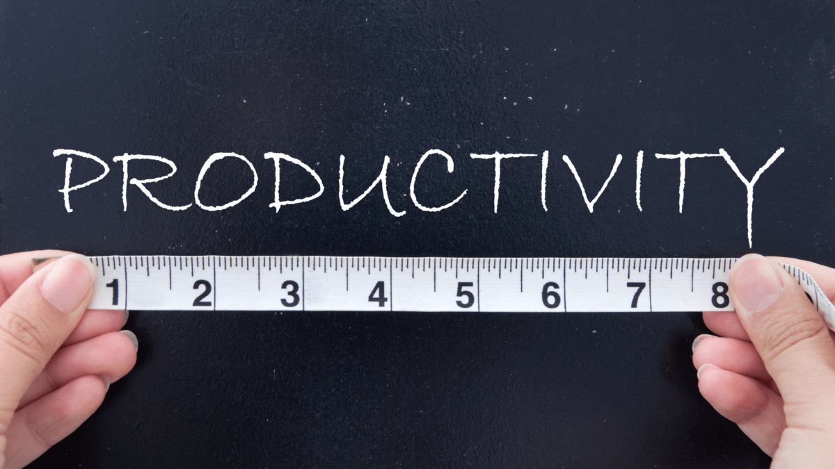 Productivity measure